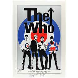 The Who Signed Silver Anniversary Poster