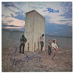 The Who: Daltrey and Townshend Signed Album