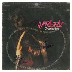 The Yardbirds Signed Album