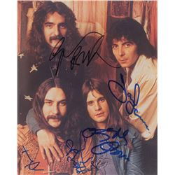 Black Sabbath Signed Photograph