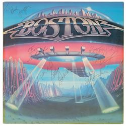 Boston Signed Album