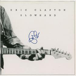 Eric Clapton Signed 'Slowhand' Album