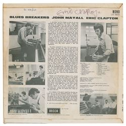 Eric Clapton Signed Album