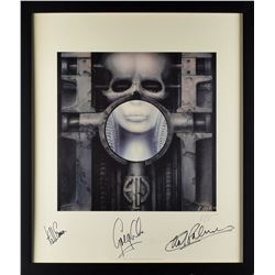 Emerson, Lake & Palmer Signed Lithograph by H. R. Giger
