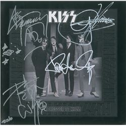 KISS Signed Album