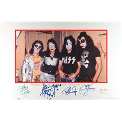 KISS Signed Poster