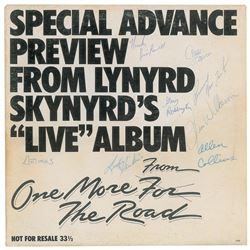 Lynyrd Skynyrd Signed Album