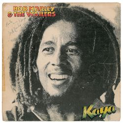 Bob Marley Signed Album
