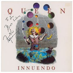 Queen: Freddie Mercury Signed Innuendo Album