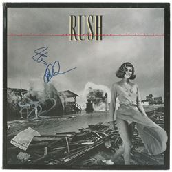 Rush Signed Album