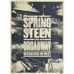 Bruce Springsteen Signed Poster