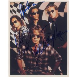 Van Halen Signed Photograph