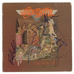 Aerosmith Signed Album