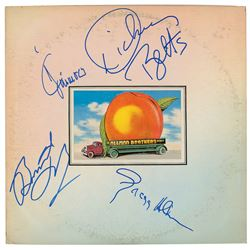 Allman Brothers Signed Album