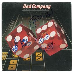 Bad Company Signed Album