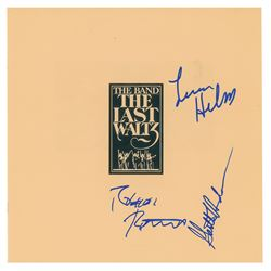 The Band Signed Album Insert