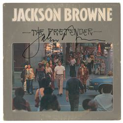 Jackson Browne Signed Album