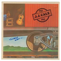 J. J. Cale Signed Album