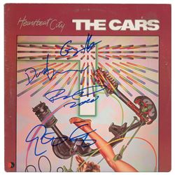 The Cars Signed Album