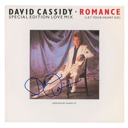 David Cassidy Signed Album