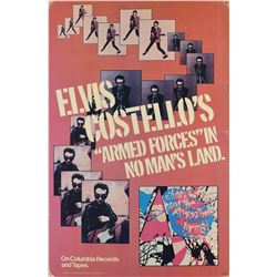 Elvis Costello and the Attractions 1979 Standee