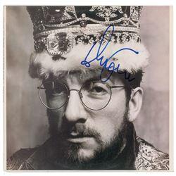 Elvis Costello Signed Album