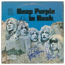 Deep Purple Signed Album