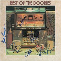 Doobie Brothers Signed Album and Oversized Photo
