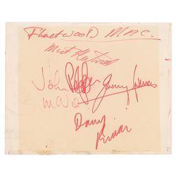 Fleetwood Mac Signatures