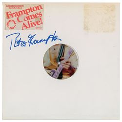 Peter Frampton Signed Albums