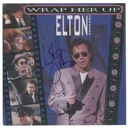 Elton John Signed 45 RPM Record