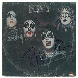 KISS Signed Album