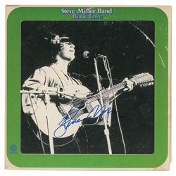 Steve Miller Signed Album