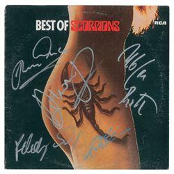 Scorpions Signed Album