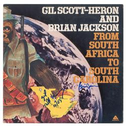 Gil Scott-Heron Signed Album