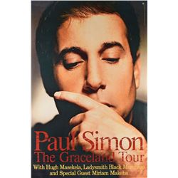 Paul Simon Graceland Promo Poster