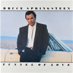 Bruce Springsteen Tunnel of Love Promo Poster