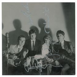 Talking Heads Signed Album Insert