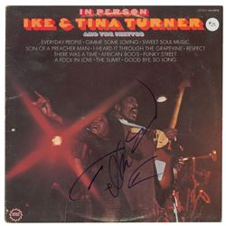 Ike and Tina Turner Signed Album