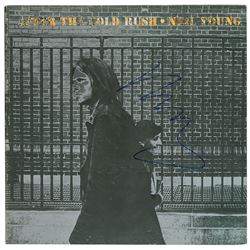 Neil Young Signed Album