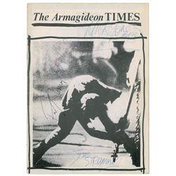 The Clash Signed Magazine