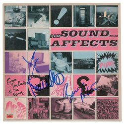 The Jam Signed Album