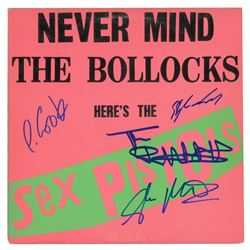 The Sex Pistols Signed Album