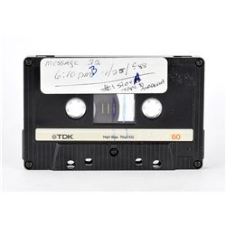 Prince: Answering Machine Cassette Tape
