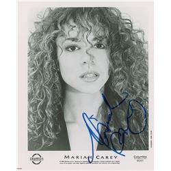 Mariah Carey Signed Photograph