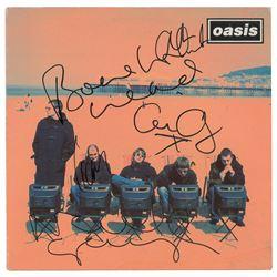 Oasis Signed Album