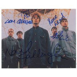 Oasis Signed Photograph