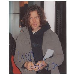 Pearl Jam: Eddie Vedder Signed Photograph