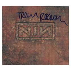 Trent Reznor Signed CDs and Insert