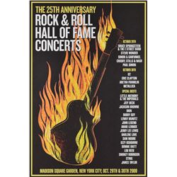 Rock and Roll Hall of Fame 25th Anniversary Print